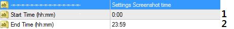 настройка Truly Screenshot Indicator